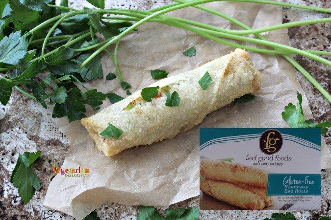 Feel Good Foods EggsRolls @vegetarianmamma.com glutenfree