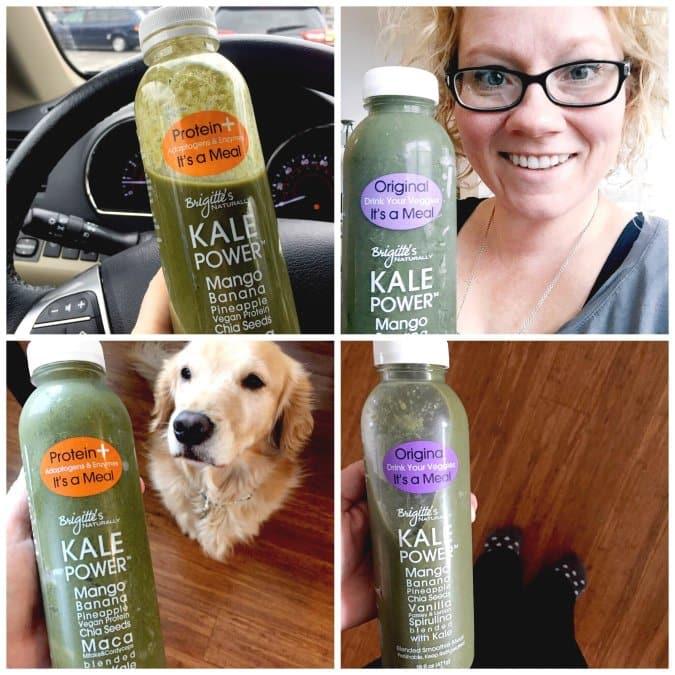Kale Power Social Media Posts @vegetarianmamma.com