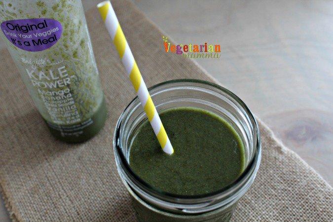 Kale Power Smoothie @vegetarianmamma.com Gluten-Free