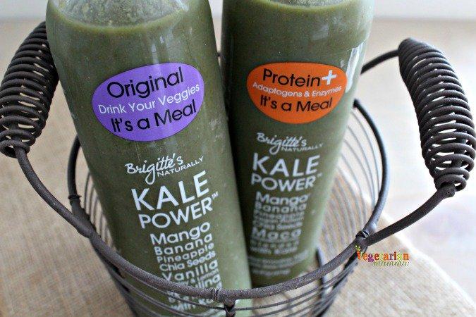 Kale Power Smoothies @Vegetarianmamma.com vegan