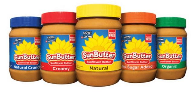 SunButter Jars @Vegetarianmamma.com
