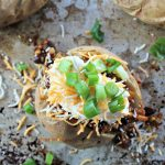 Taco Baked Potato