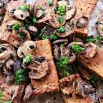 Balsamic Tofu and Mushrooms @ vegetarianmamma.com 2