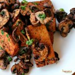Balsamic Tofu and Mushrooms @ vegetarianmamma.com 3
