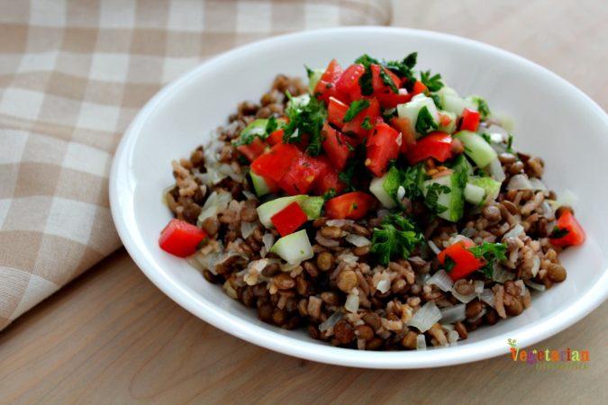 Judara lentils and rice recipe