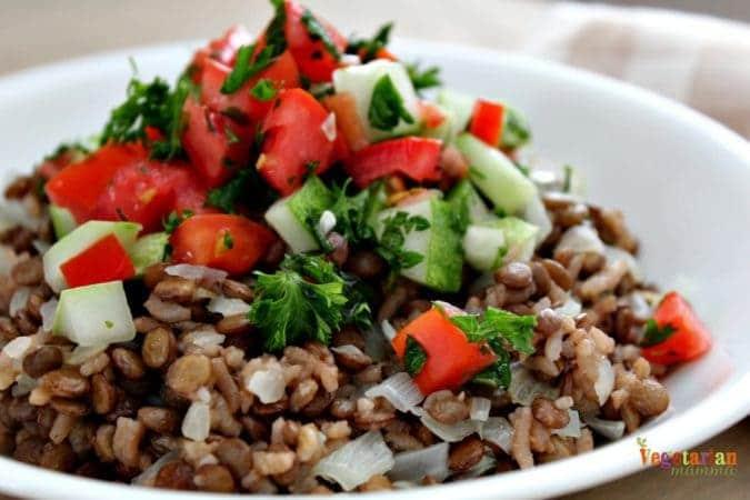 Judara @vegetarianmamma.com - #lentils #rice #glutenfree