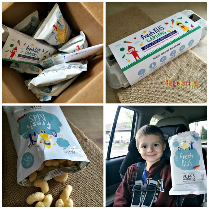 Snack Happy Boxes @VegetarianMamma.com - We Love it!