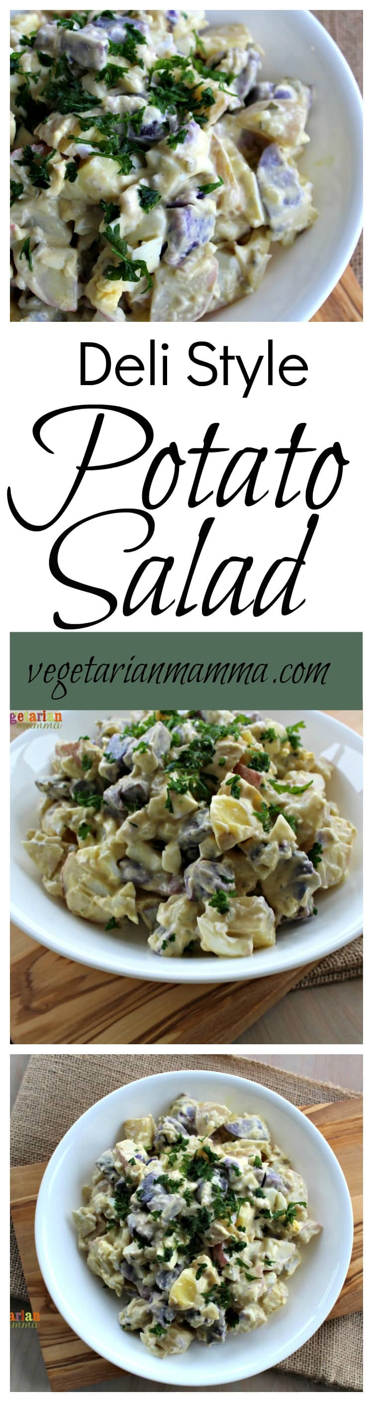 Take your picnic up a notch with this Deli Style Potato Salad