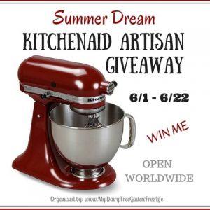 KitchenAid Artisan 5-Qt. Stand Mixer Giveaway