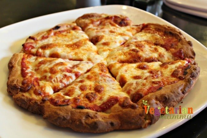 Annie Mays Sweets Cafe - @Vegetarianmamma.com - Travel - Kentucky - Pizza