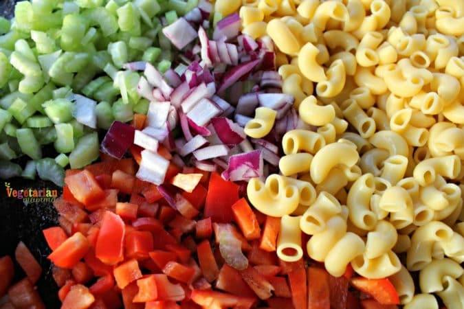 Chipotle Macaroni Salad @ vegetarianmamma.com - gluten free + vegan