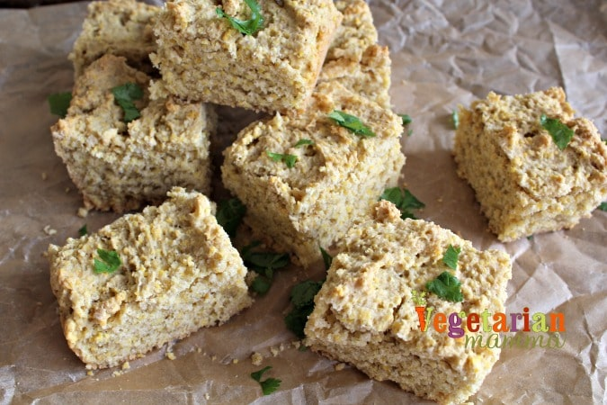 Jewels Gluten Free Review @Vegetarianmamma.com - Cornbread