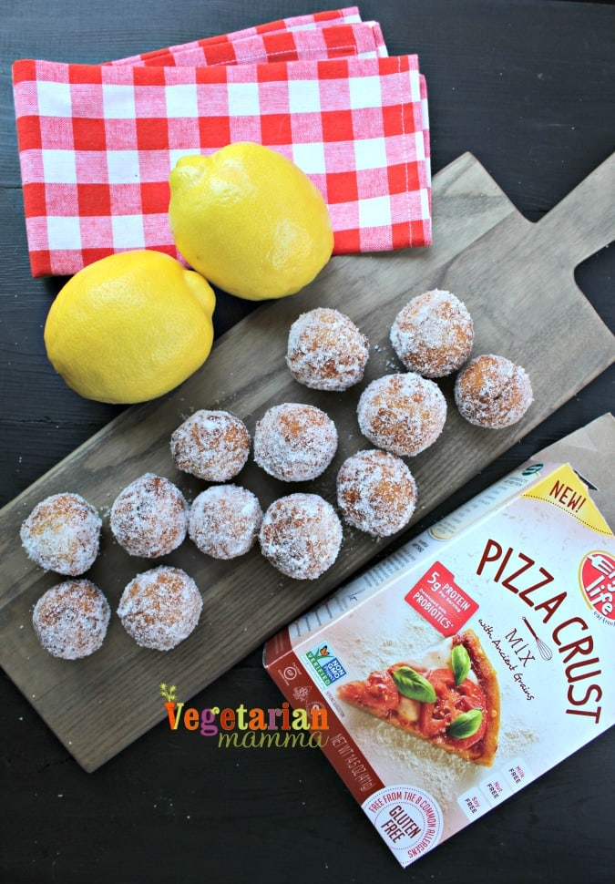Gluten Free Allergy Friendly Lemon Donuts