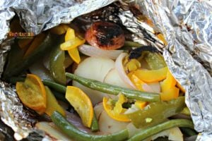 Foil Packet Cooking – Grilled Potatoes and Vegetables