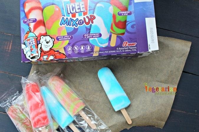 PhillySwirl Frozen Treats @Vegetarianmamma.com - Icee
