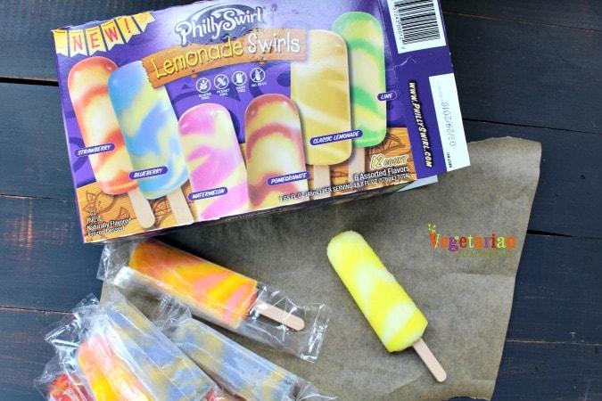 PhillySwirl Frozen Treats @Vegetarianmamma.com - Lemonade