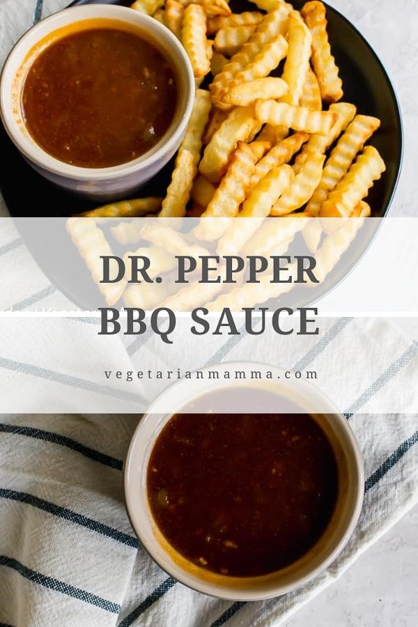 Dr Pepper BBQ Sauce
