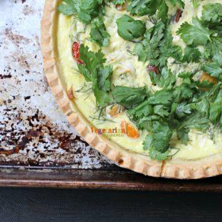 Gluten Free Vegetarian Quiche