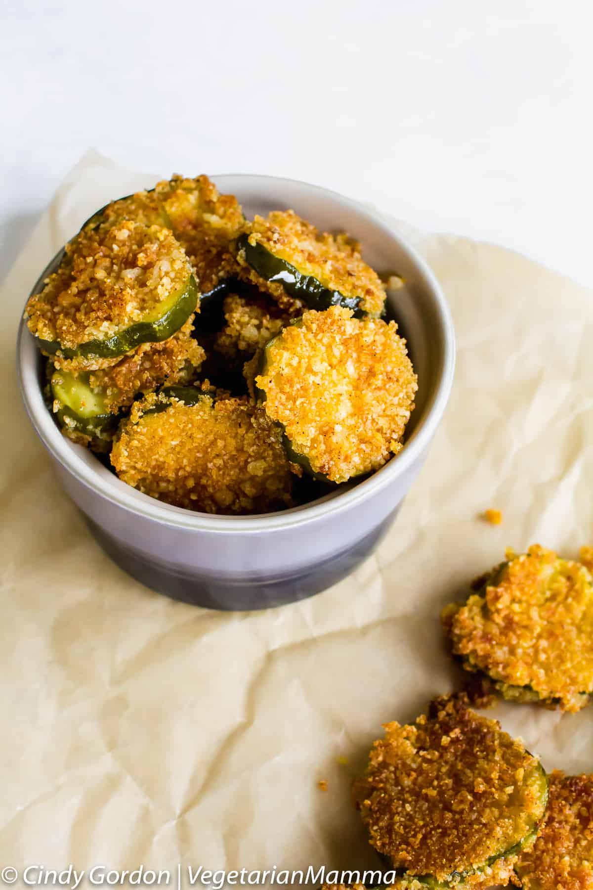 Gluten-Free Fried Pickles