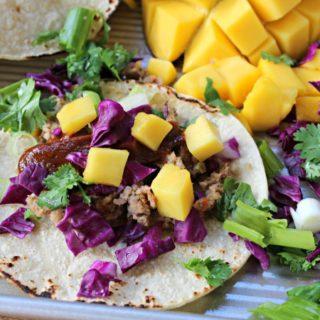 Veggie Burger Tacos