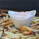 Grilled Cheese Bites and French Fry Dipping Sauce