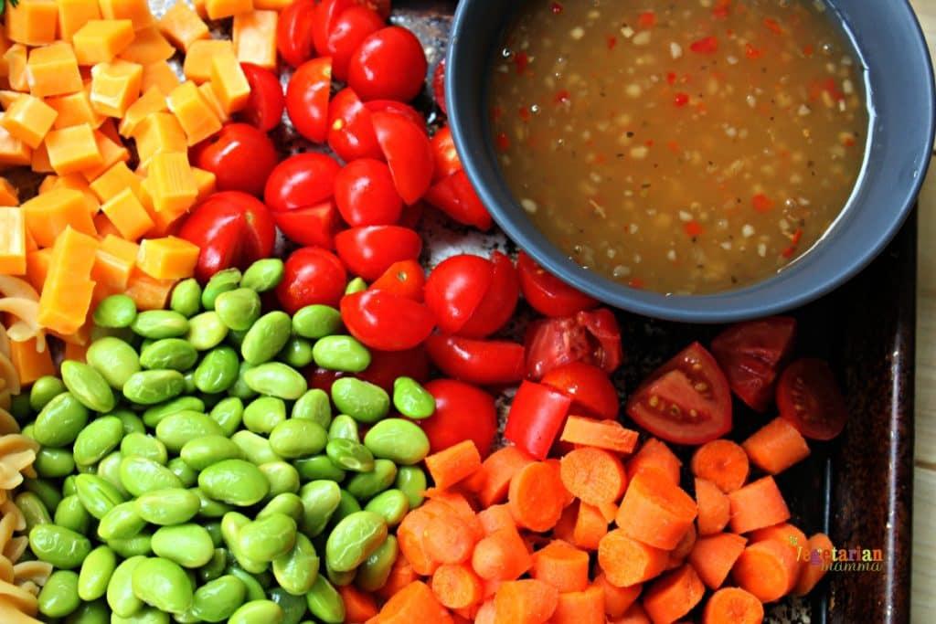 Kid Friendly Pasta Salad @Vegetarianmamma.com - Gluten Free Lunch