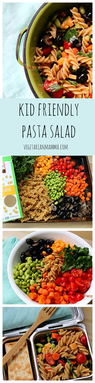 Gluten Free Kid Friendly Pasta Salad
