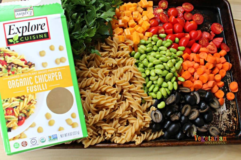 Gluten Free Kid Friendly Pasta Salad - A cold pasta salad that kids will eat