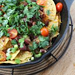 Oven Baked Nachos - gluten free and vegetarian