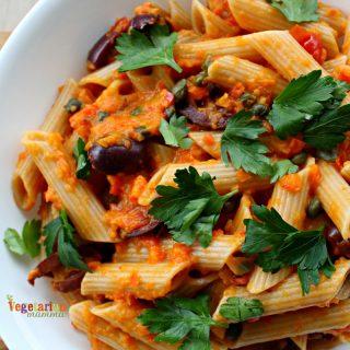 Gluten Free Roasted Tomato Sauce with Pasta