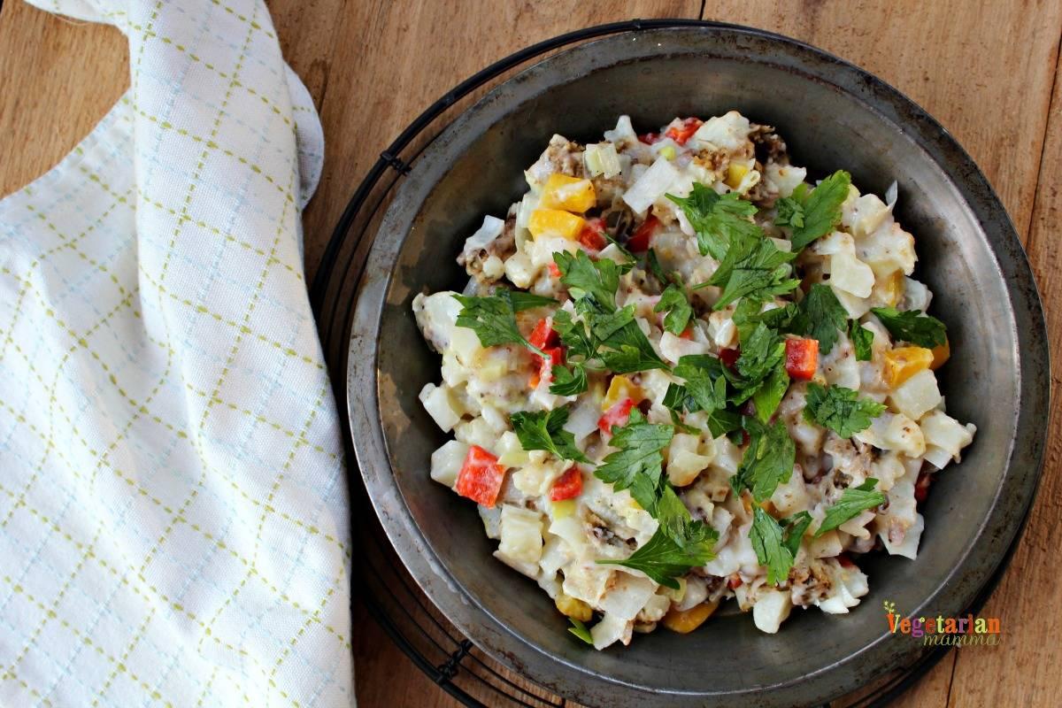 Leek and Pepper Breakfast Casserole - Gluten Free