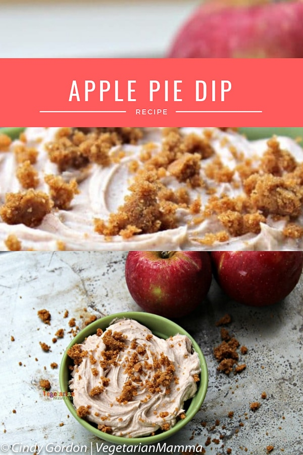 Apple Pie Dip Recipe with Vegan Ingredients