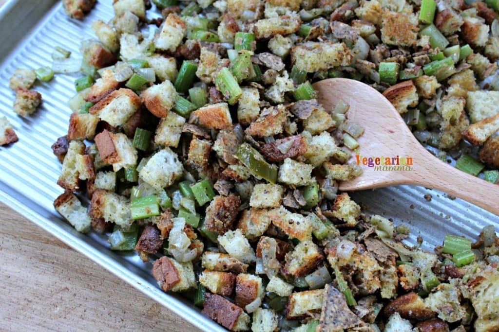 Jalapeno Stuffing - Gluten Free, Dairy Free, Vegan
