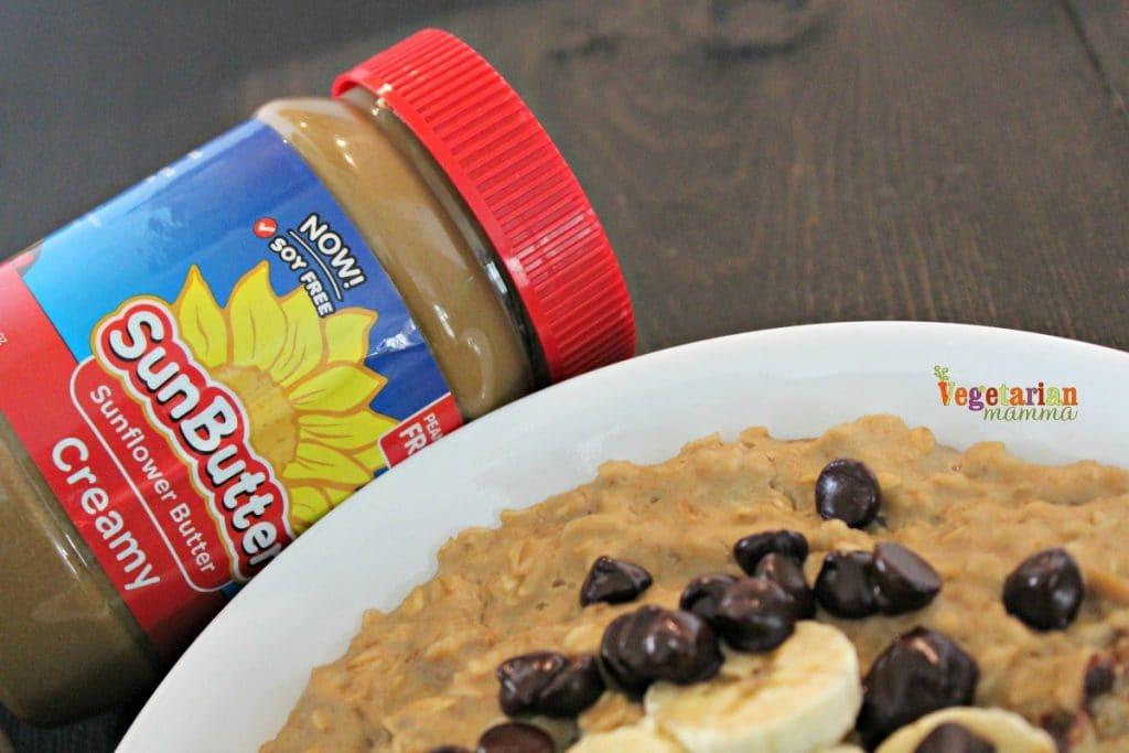 sunbutter-banana-oatmeal-vegetarianmamma-com-creamy-sunbutter
