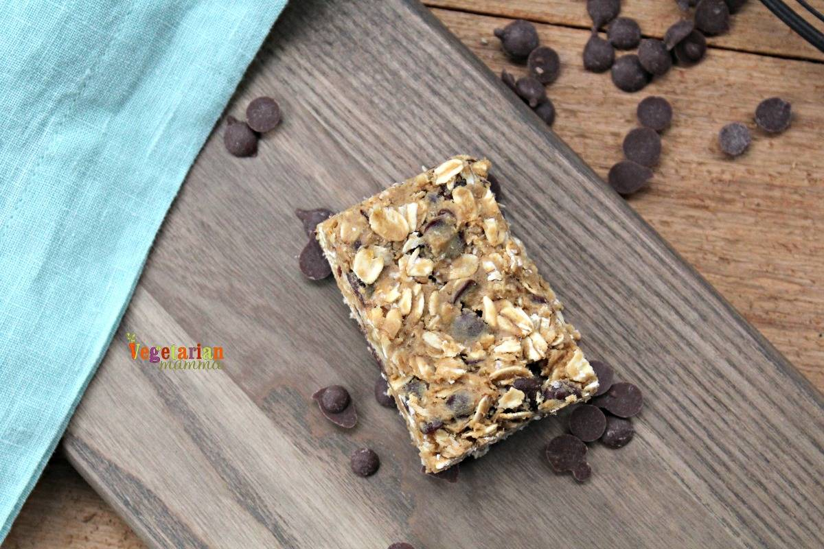 Gluten Free, Dairy Free, Nut Free Homemade Granola Bars. Allergy Friendly granola bars