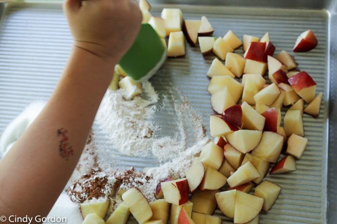Easy Apple Crisp - Gluten Free Nut Free Dairy Free