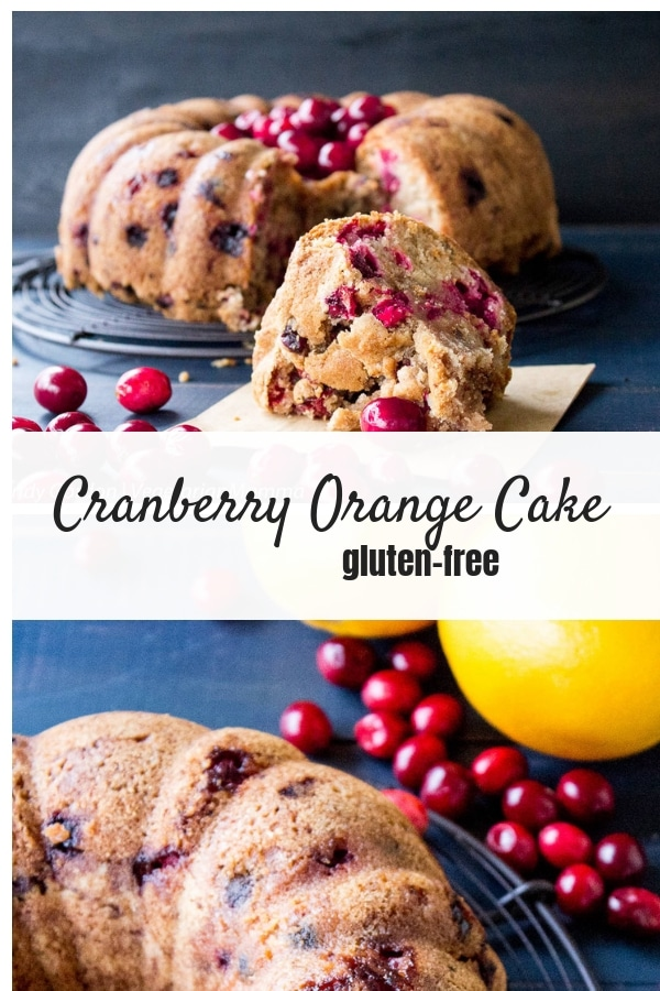 This Orange-Cranberry Cake is sweet, flavorful and the perfect treat to please your friends.
