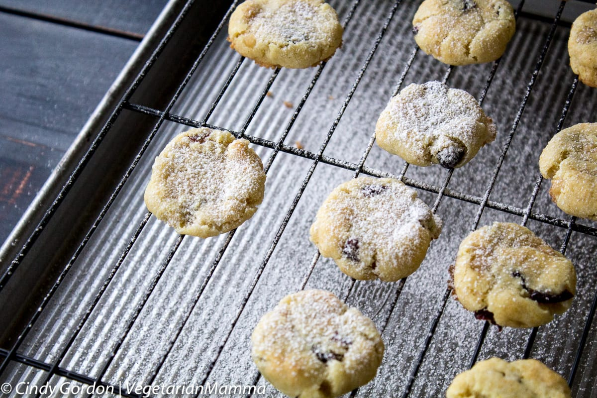 Allergy Friendly Gluten Free Lemon Cranberry Cookies