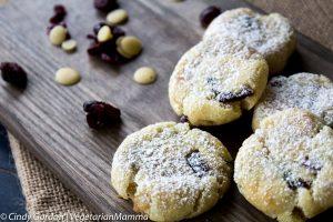 Lemon Cranberry Cookies