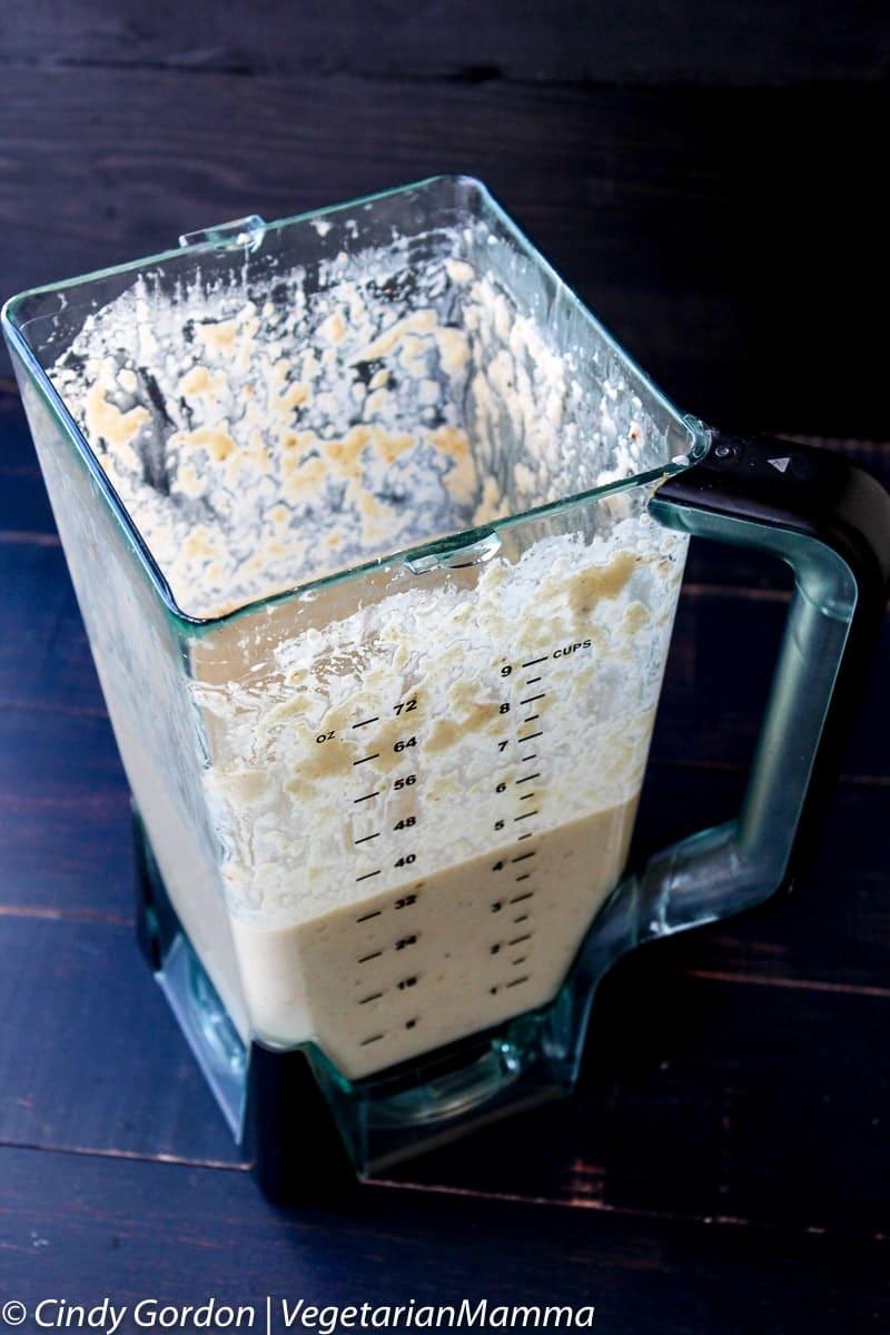 Gluten Free and Vegan Roasted Cauliflower Alfredo