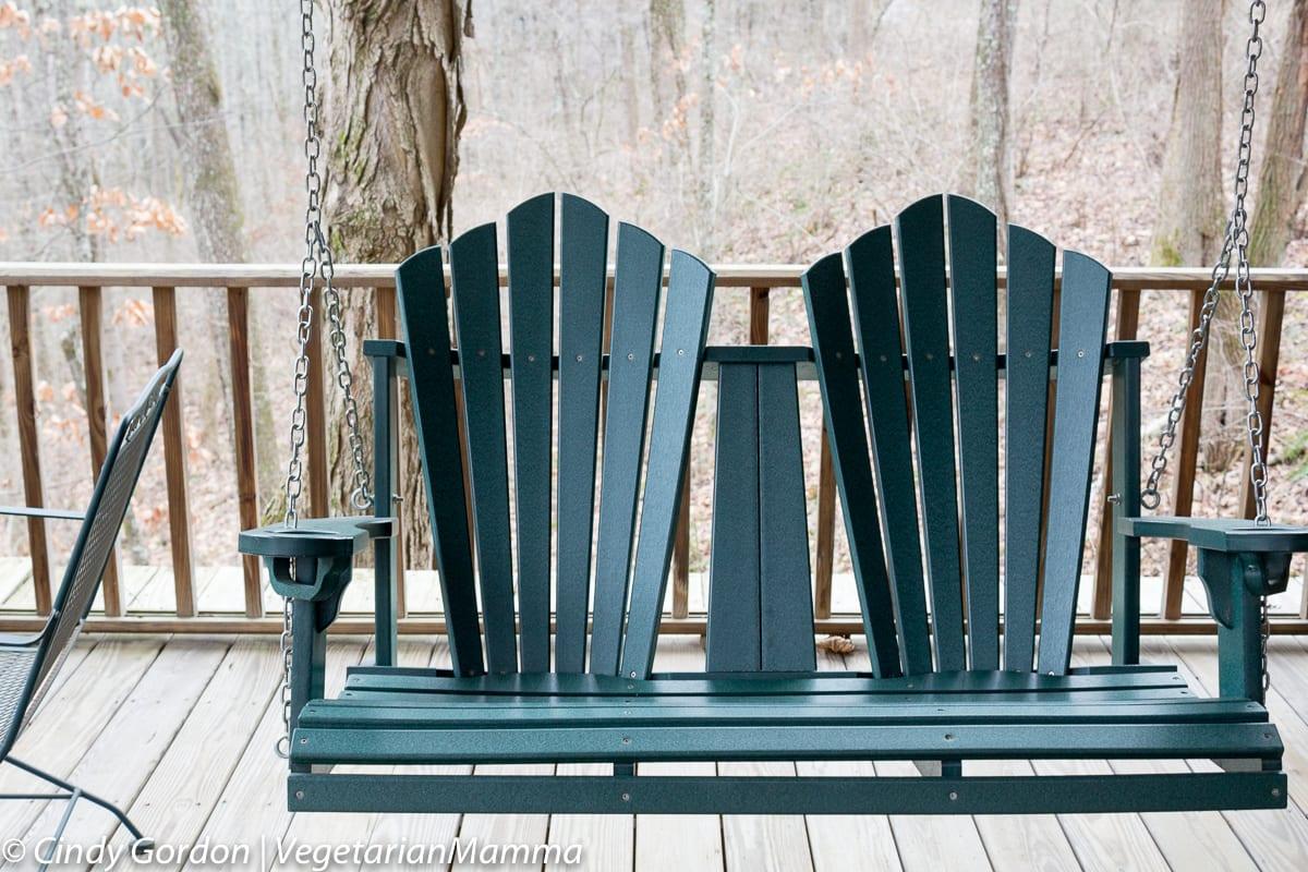 Cabins at Inn at Cedar Falls - Porch