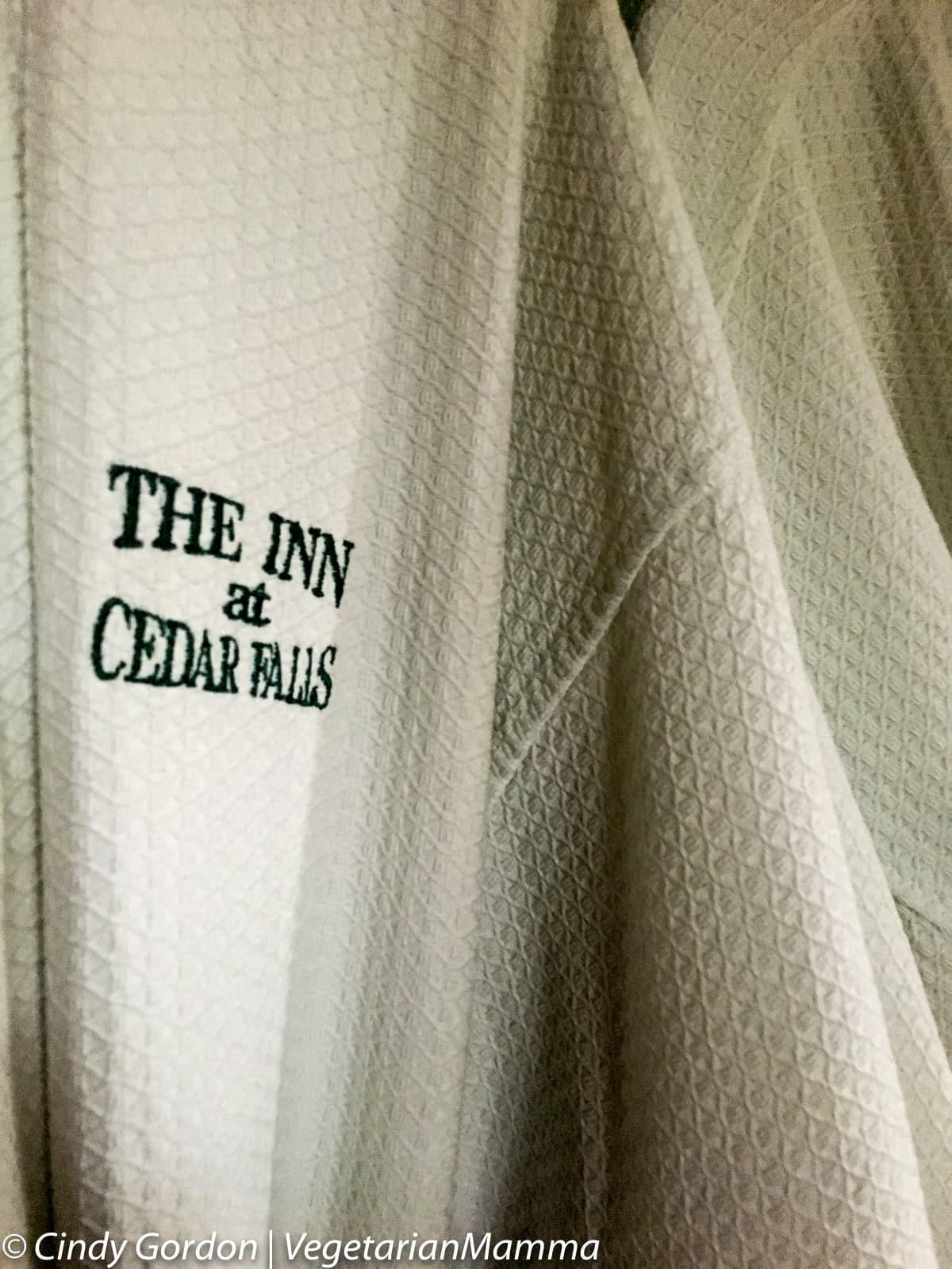 Spa Robes at the Inn at Cedar Falls