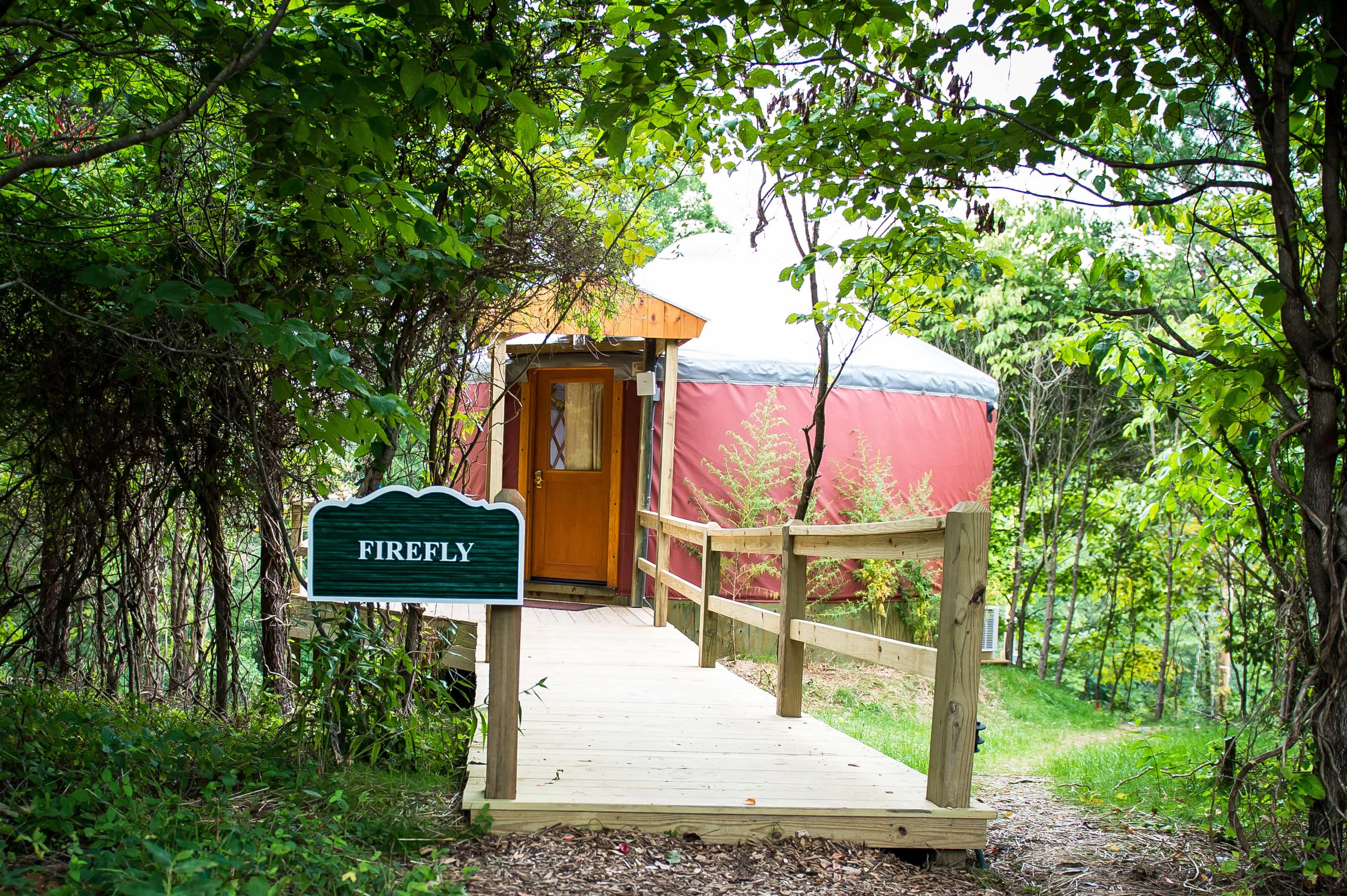 Inn at Cedar Falls Yurt