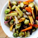 Roasted Brussels and Carrots