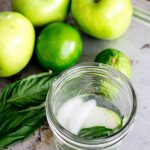 Sour and Sweet Apple Mocktail