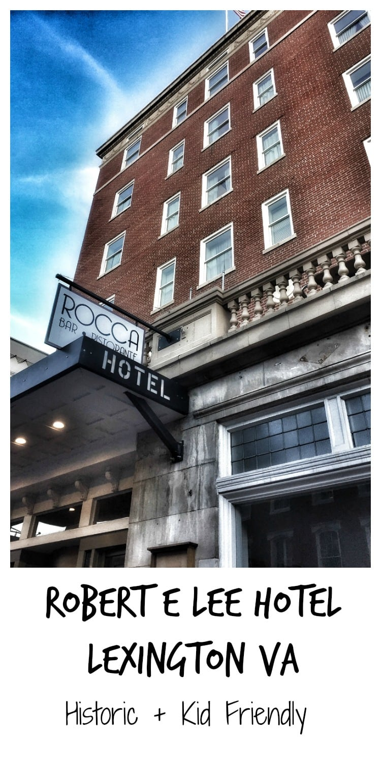 Robert E Lee Hotel in Lexington VA