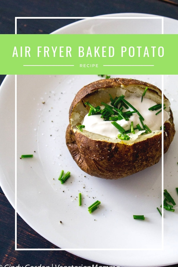 Air Fryer Baked Potato - easy air fryer recipe