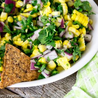 Easy Corn Salsa – Possibly THE BEST Corn Salsa of time.