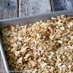 5-Ingredient Homemade Gluten Free Granola