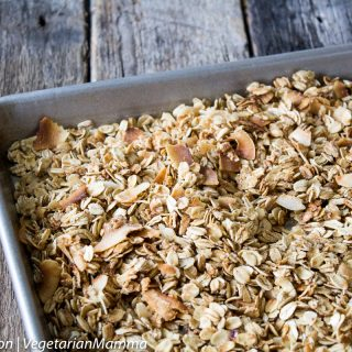 Easy Homemade Gluten Free Granola + How to Make the PERFECT Dairy-Free Parfait